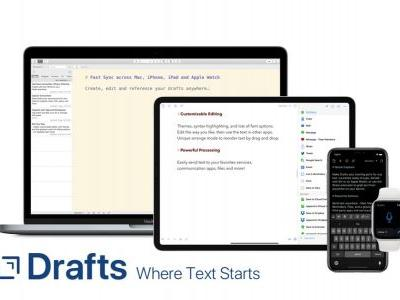 Drafts for Mac adds actions support for deep integration with other apps and services