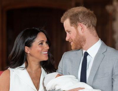 Meghan Markle and Prince Harry Share a New Photo of Baby Archie for Their 1st Father's Day