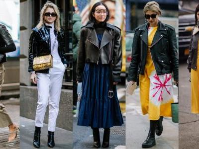 Short Black Jackets Made a Street Style Comeback on Day 7 of New York Fashion Week