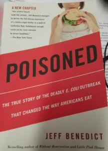From Food Safety News - New edition of 'Poisoned' by the prolific Jeff Benedict shipped by publishers