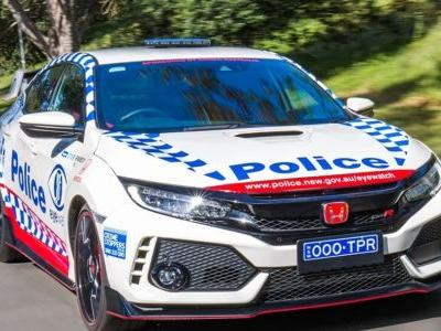 Honda Just Gifted The Australian Police Force A Civic Type R