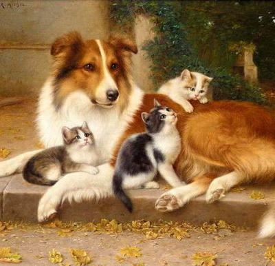 Inspire Your Heart with Art Day | Winslow Animal Hospital Dog & Cat