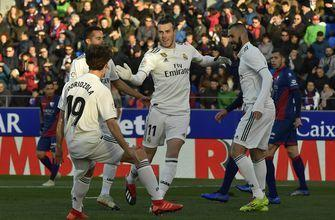 Bale scores as Real Madrid beats Huesca 1-0 in Spain