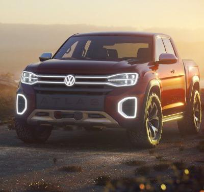 Volkswagen just unveiled a pickup truck concept that shows it's ready to take over the US