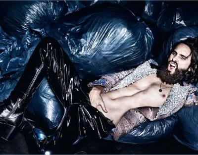 Jared Leto Covers Man About Town, Rocks Glam Gucci Fashions
