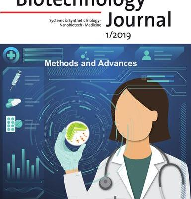 Inside Front Cover: Biotechnology Journal 1/2019