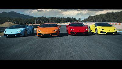 Watch Epic Lamborghini Commercial Featuring All Their Huracan Models