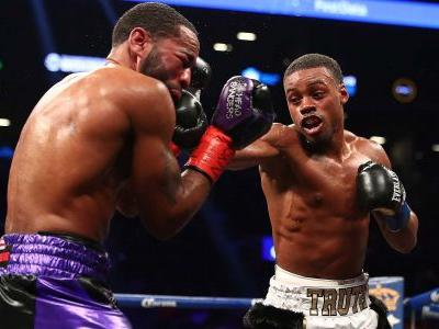 Best photos from Errol Spence vs. Lamont Peterson