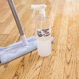 Glowing Goodness: Homemade Wood-Floor Cleaner