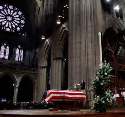 Full text: Brian Mulroney delivers stirring eulogy at state funeral of George H.W. Bush