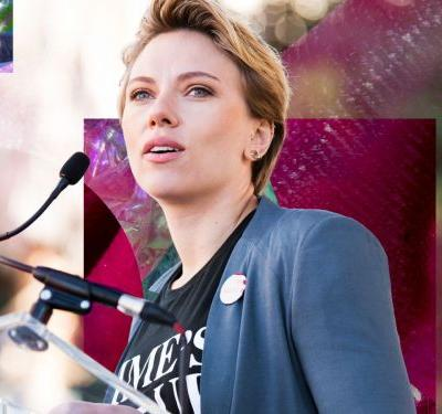 Scarlett Johansson Calls Out James Franco & Fake Allies At L.A. Women's March