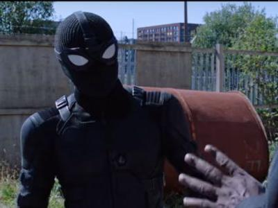 """What is the material of Spider-Man's """"Night Monkey"""" suit?"""