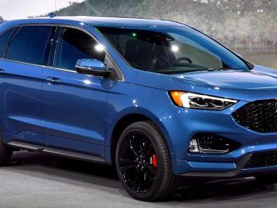 2019 Ford Edge ST Brings A Class-Leading Twin-Turbo V6 To Detroit