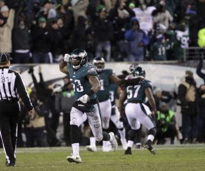 Philadelphia Eagles beat Falcons to move into NFC championship game