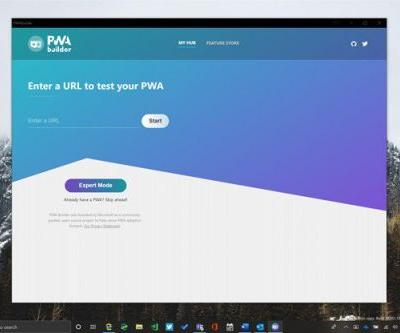 Microsoft's PWA Builder hits version 2.0 with new design and more