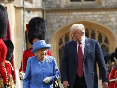 In TV interview, Trump says queen calls Brexit 'complex'