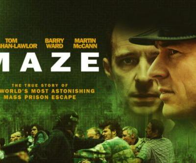 Trailer and Poster of Maze starring Tom Vaughan-Lawlor, Barry Ward, and Martin McCann