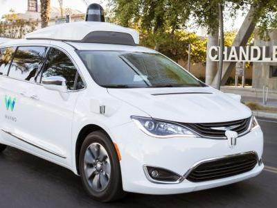 Waymo orders 62,000 Chrysler Pacificas as Fiat Chrysler in talks on selling self-driving cars