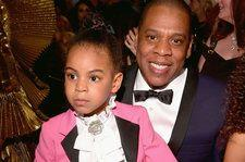 Watch Blue Ivy Bid $19,000 Alongside JAY-Z and Beyonce at L.A. Art Auction