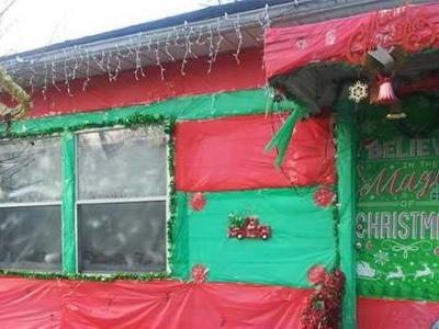 'It's my pride and joy': This home that's wrapped like a Christmas present is truly a gift