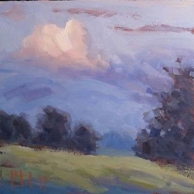 Sweet Dreams Landscape Art Original Oil Painting Heidi Malott