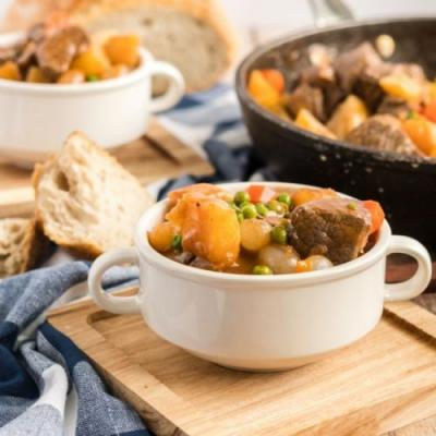 Skillet Guinness Beef Stew
