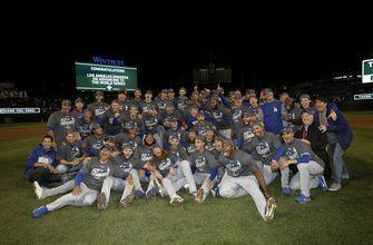 Dynamic Dodgers reach World Series with consummate teamwork