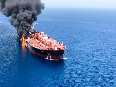 Oil is being propped up by Mideast tensions after the US used video to blame Iran for tanker attacks