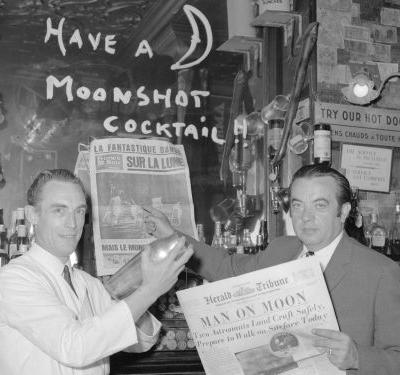 Newspaper front pages from 50 years ago reveal how the world reacted to the Apollo 11 moon landing