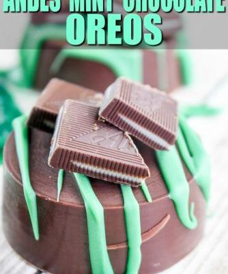 Andes Mint Chocolate Covered Cookies