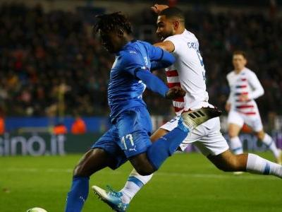 USMNT fall 1-0 to Italy in stoppage time