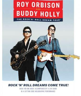 Roy Orbison's And Buddy Holly's Holograms Announce Joint Tour
