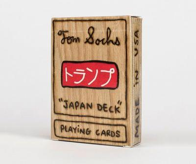 "Tom Sachs Creates ""Japan Deck"" Plywood Playing Cards About Tea Ceremonies"