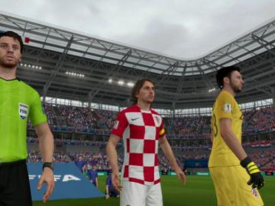 Croatia was such a World Cup longshot that it wasn't in FIFA 18 until June