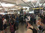 Stansted Airport chaos as Ryanair passengers wait for luggage