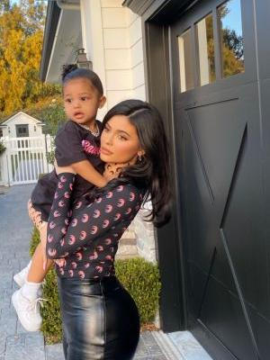 Stormi Webster Steals Mom Kylie Jenner's Drink and Blows Bubbles in It