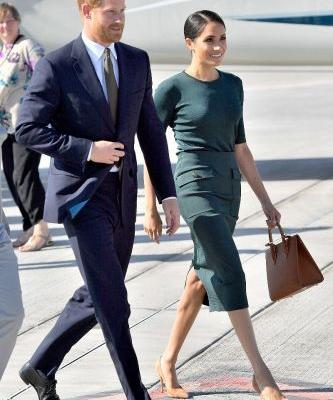 Meghan Markle Just Perfected Royal Airport Style in Ireland