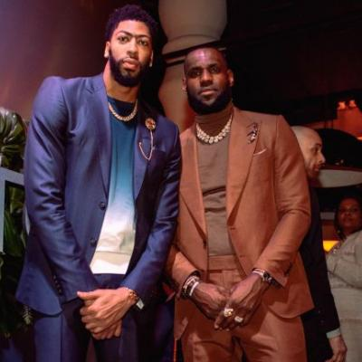 'Just the beginning': LeBron James welcomes Anthony Davis to Lakers