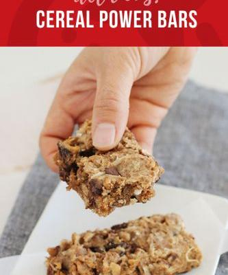 Cereal Power Bars