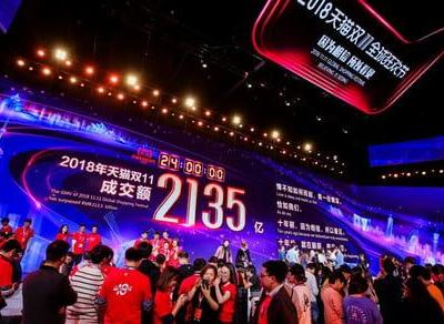 Alibaba's Singles' Day sale smashes online shopping records