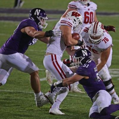 To stay in 1st in the Big Ten West, Northwestern's defense was at their best in a win over Wisconsin