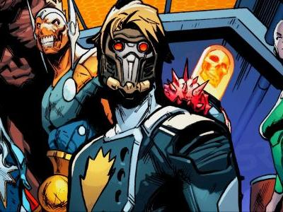 Guardians of the Galaxy Recruit Marvel's BEST Inhuman