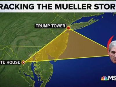 Chuck Todd Previews the Incoming 'Mueller Storm': DC Equivalent of a 'Category 5 Hurricane'