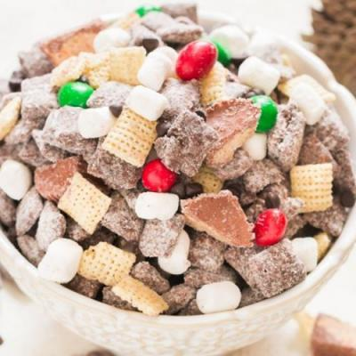 S'more Puppy Chow Recipe