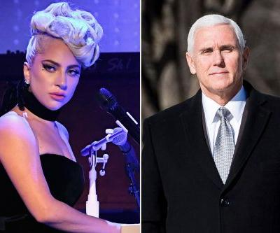 Lady Gaga slams Mike Pence during concert: 'You are wrong'