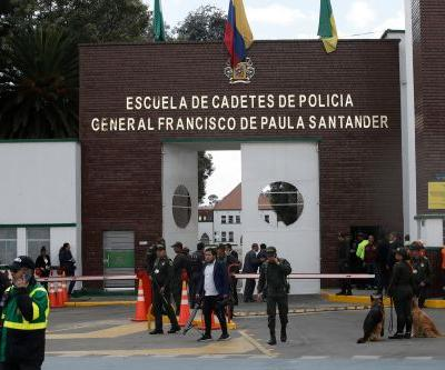 Death toll rises after car bombing at Colombia police academy