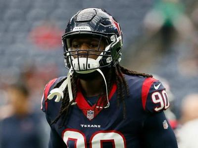 Texans' Jadeveon Clowney won't play Sunday vs. Titans, report says