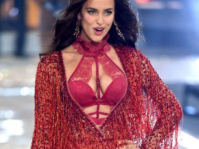 Reportedly Pregnant Irina Shayk Walks In Victoria's Secret Fashion Show