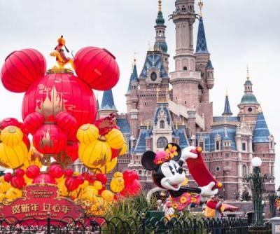 Shanghai Disney marks Year of the Dog