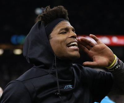 Cam Newton benches himself sexually
